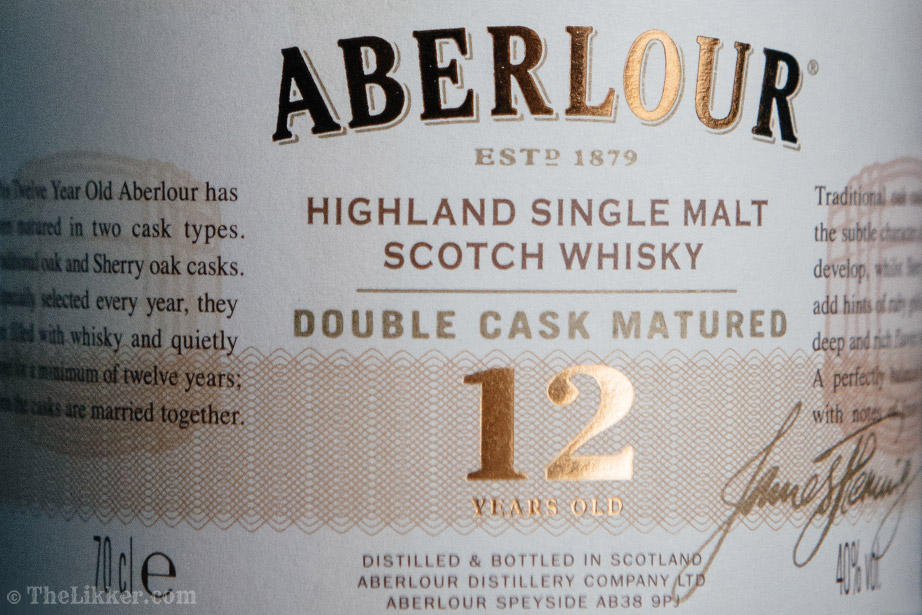 Aberlour 12 years old Double Cask Matured the Likker review ουισκι