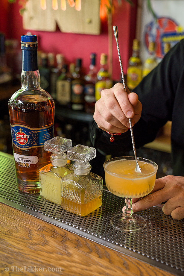the likker step by step cocktails daiquiri havana club seleccion de maestros tiki bar athens
