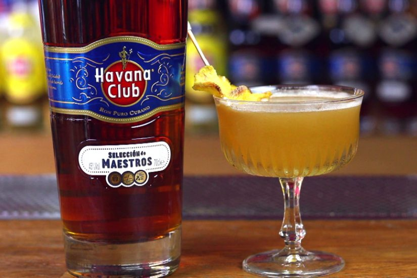 """The Modern Daiquiri"" cocktail with Havana Club Selección de Maestros"