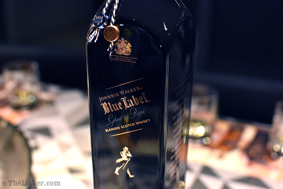 johnnie walker blue label ghost and rare the likker reviews whisky cava oak