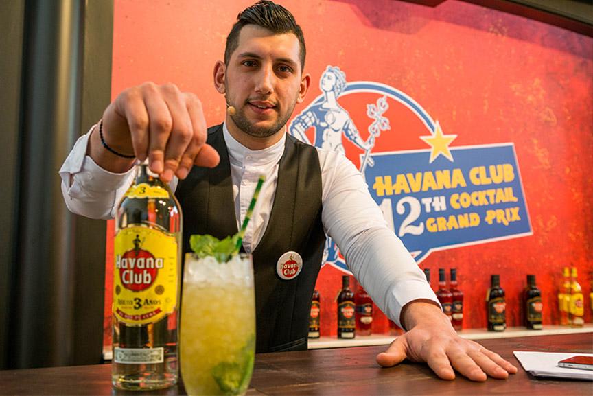 behind the bar Thodoris Konstantinidis the likker