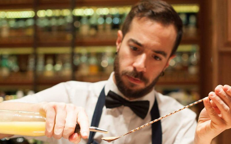 behind the bar Themos Kontodimas the likker