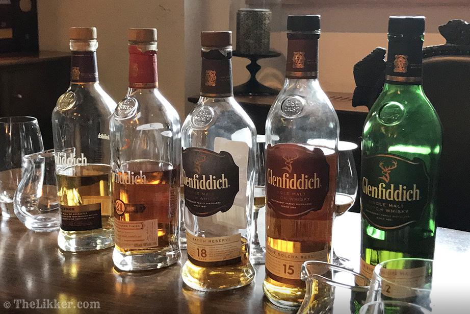 glenfiddich distillery whisky