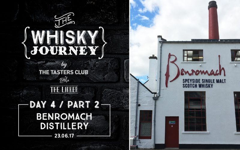 Benromach Distillery whisky
