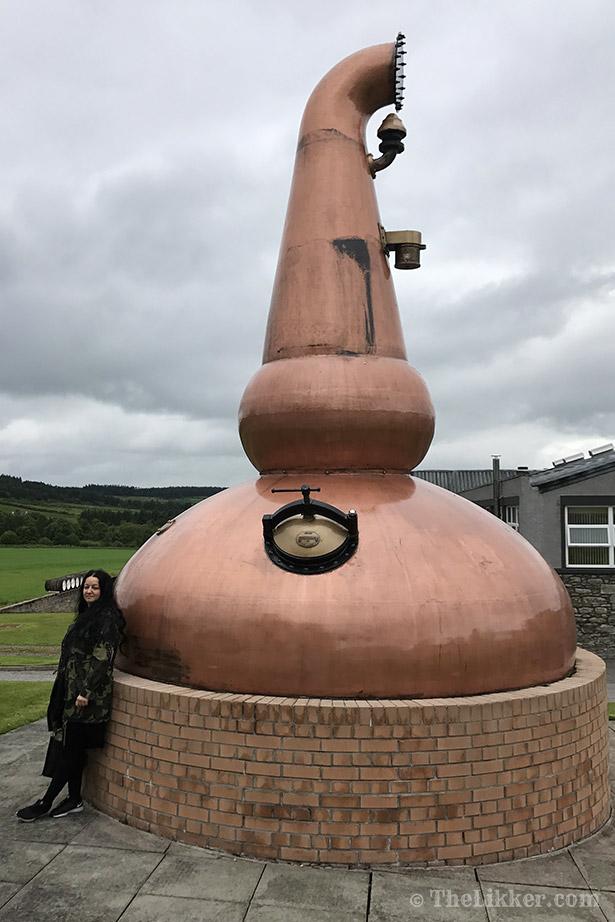 Glenfarclas Distillery whisky Chrisovitsioti