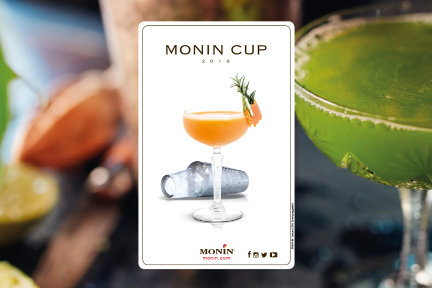 monin cup cocktails