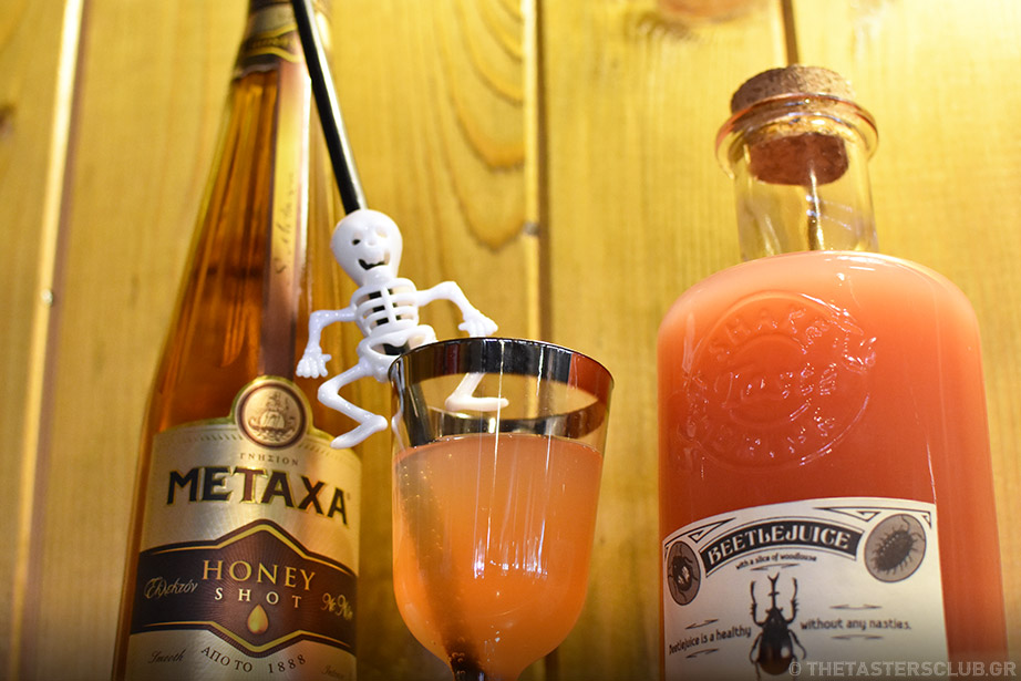 the tasters club halloween cocktails the ranch raven rare whisky metaxa honey