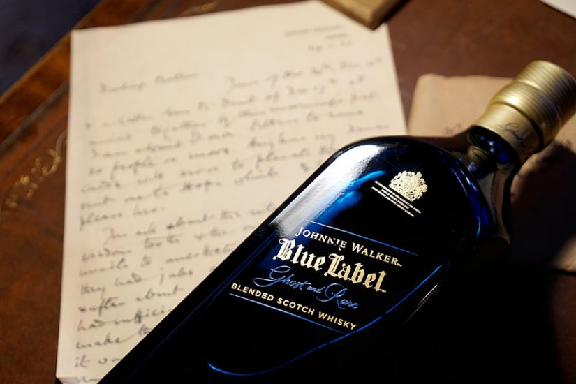 johnnie walker blue label ghost and rare port ellen