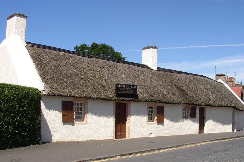 Robert Βurns cottage