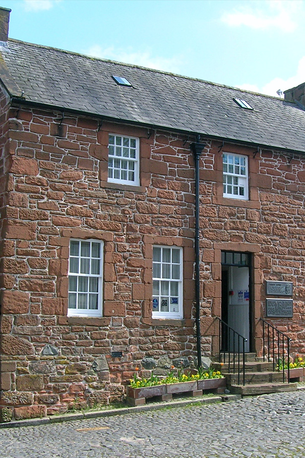 Robert Burns House at Dumfries