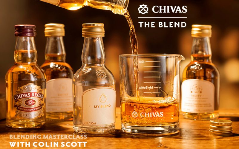 chivas the blend the tasters club
