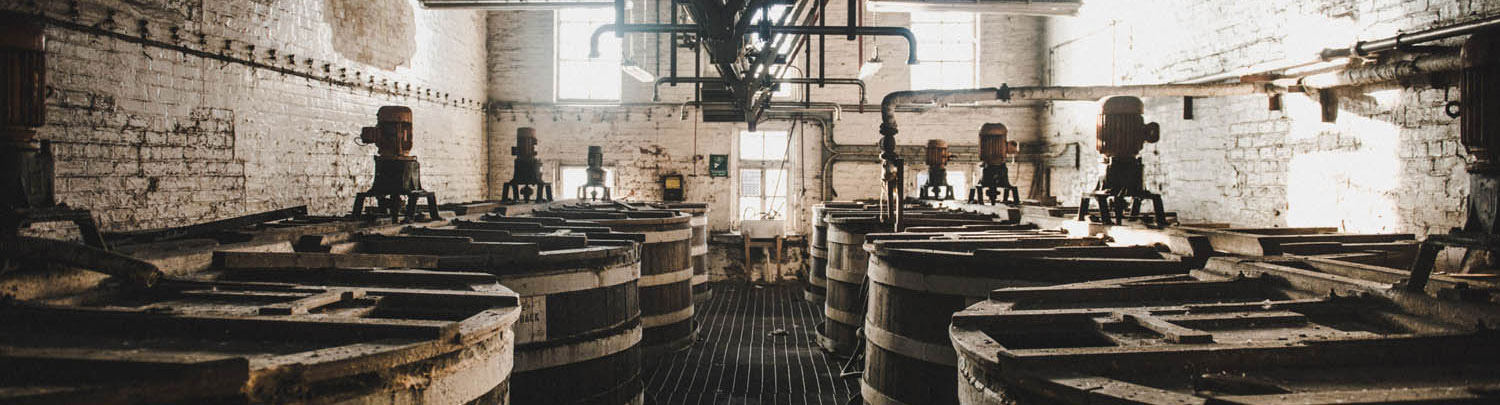 rosebank distillery wash backs