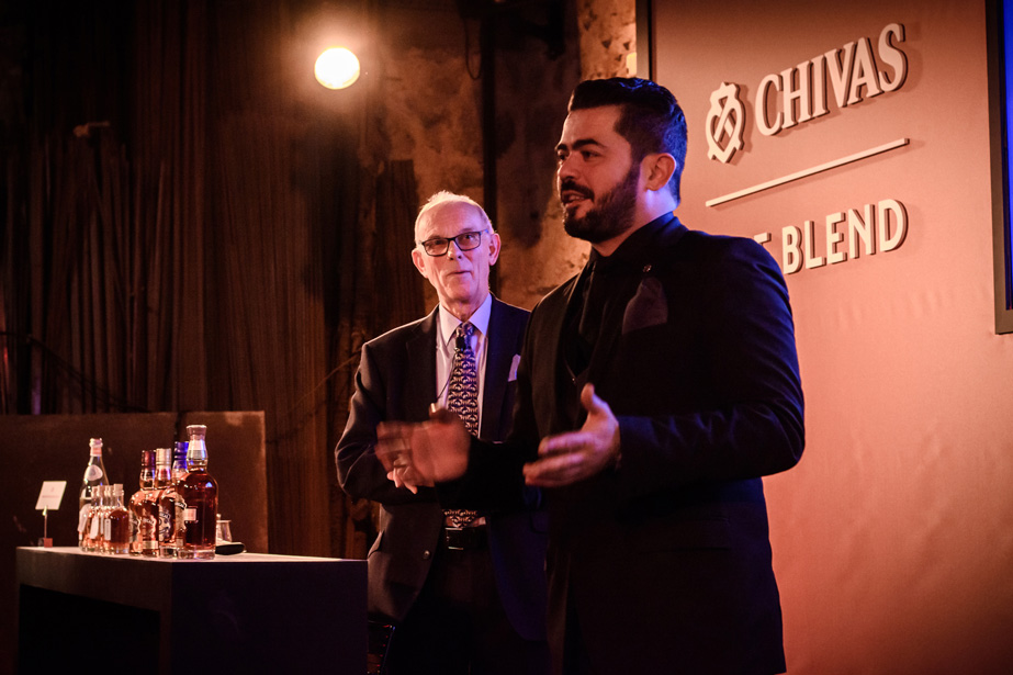 chivas the blend the tasters club Colin Scott Kagiannis