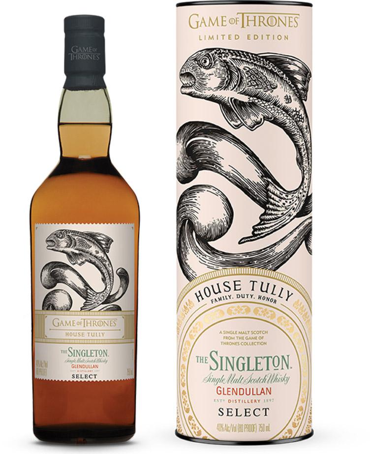 game of thrones single malt whisky Singleton of Glendullan Tully the likker