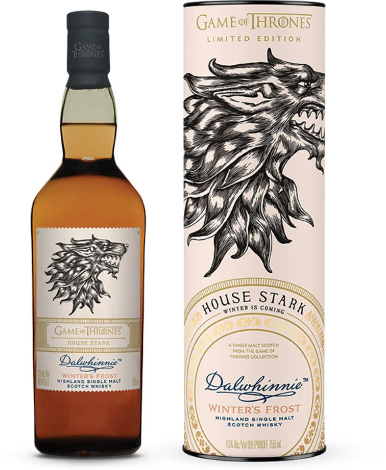 game of thrones single malt whisky Dalwhinnie Stark the likker