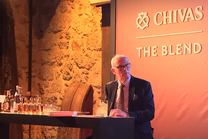 Colin Scott chivas the blend the likker interview athens 2019