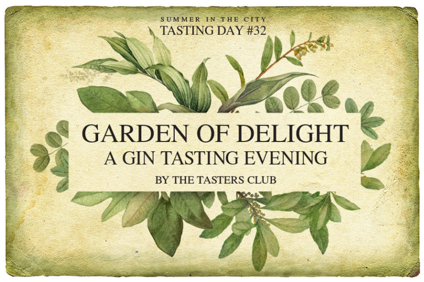 Tasting Day 32 gin tasting the tasters club