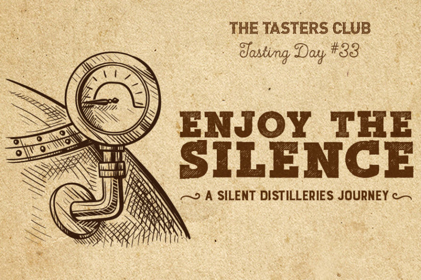 the tasters club whisky tasting day silent distilleries amber ουισκι