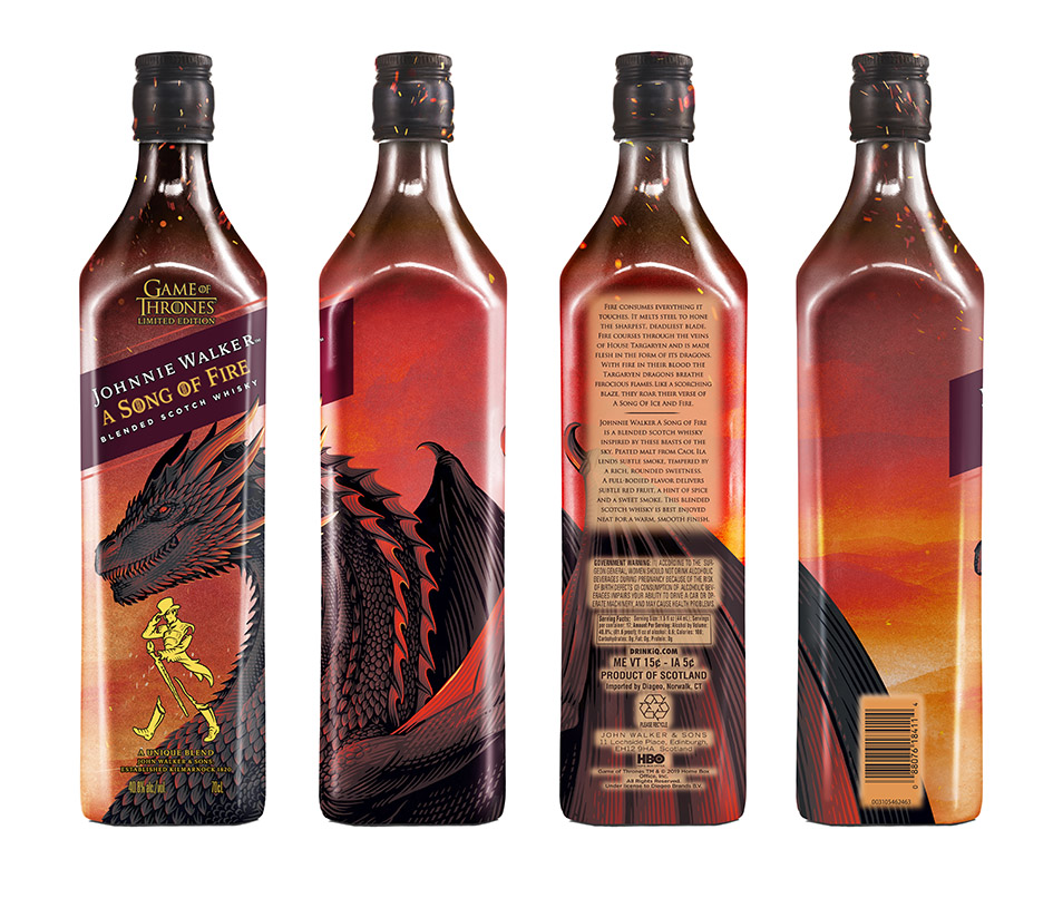 Song of Fire Johnnie Walker