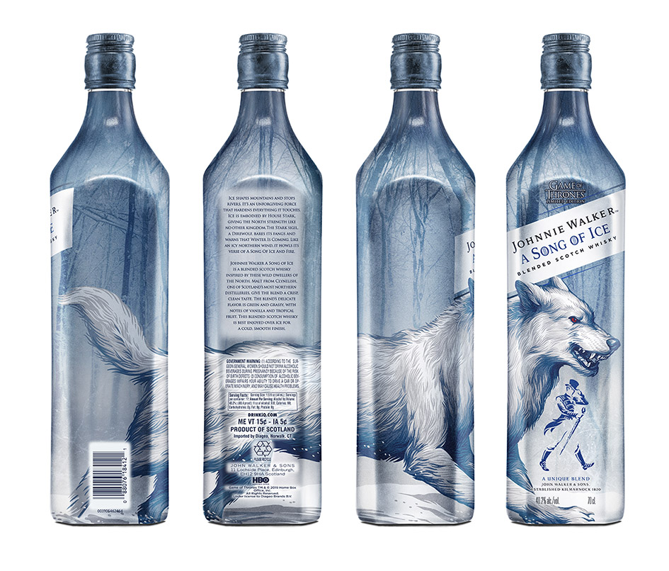 Song of Ice Johnnie Walker