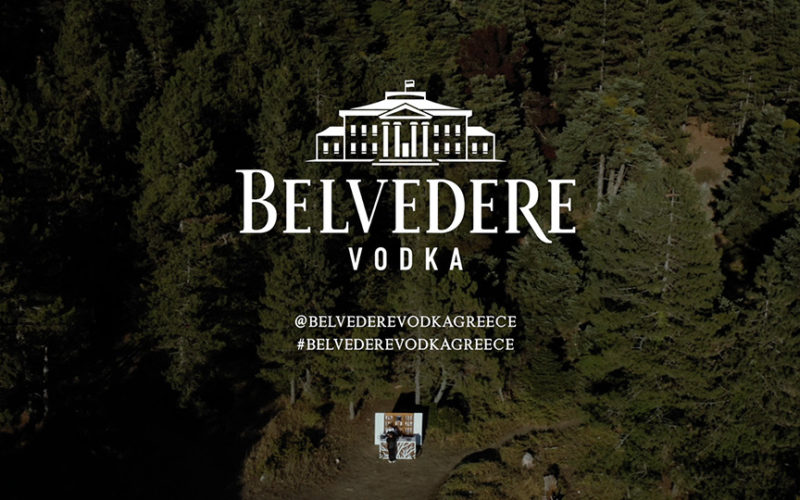 BELVEDERE UNEXPECTED BEAUTY SHOOTING DRONE