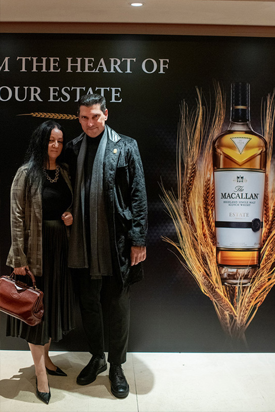 MACALLAN ESTATE DINNER ECALI CLUB MILIONIS CHRYSOVITSIOTI