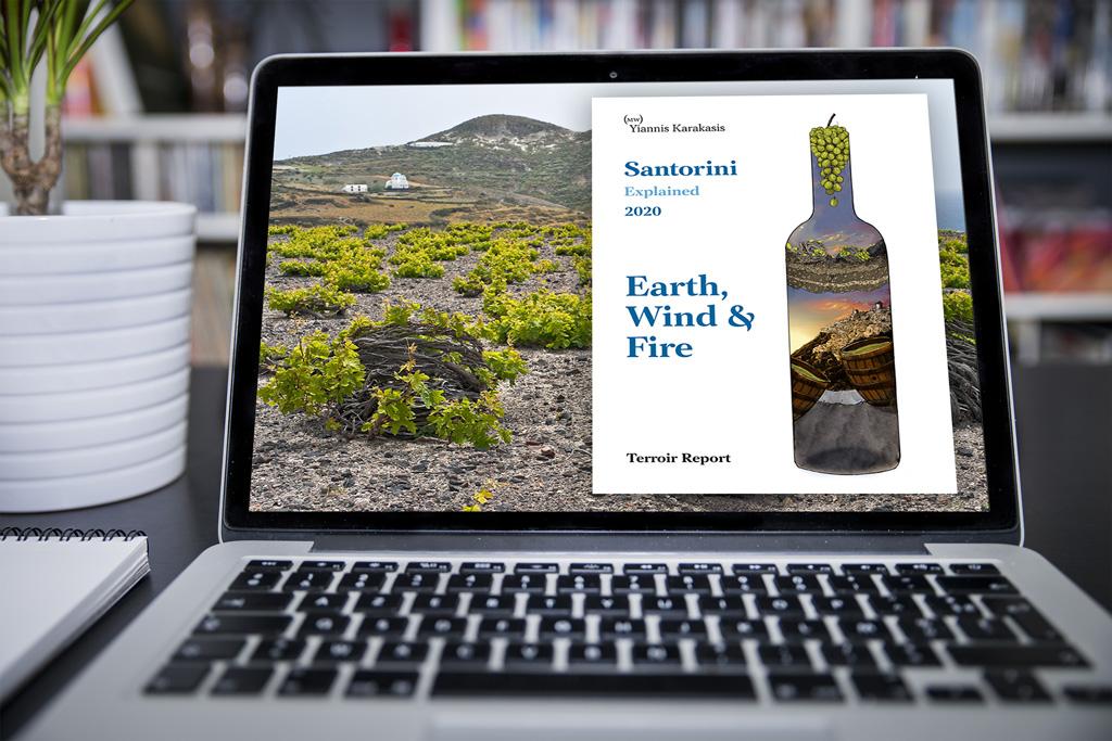 Yiannis Karakasis MW Santorini Explained Terroir Report ebook