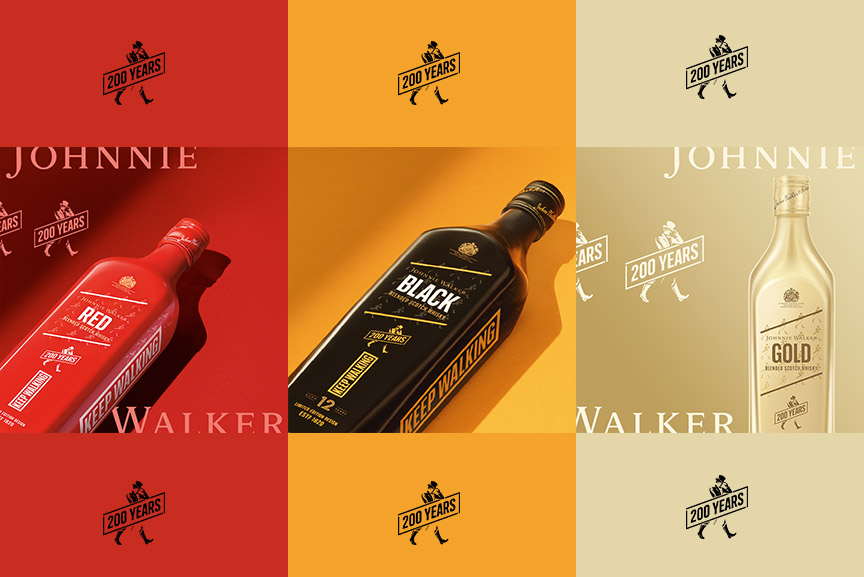 JOHNNIE WALKER 200 YEARS