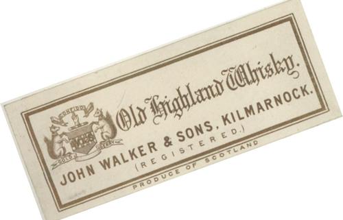 old highland whisky