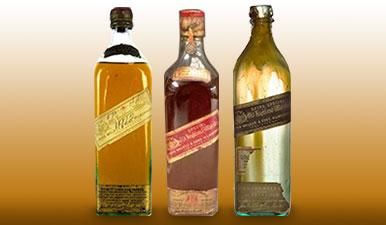 johnnie walker old bottlings 1906