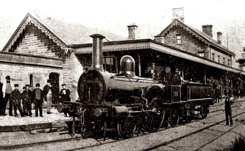 Kilmarnock railway