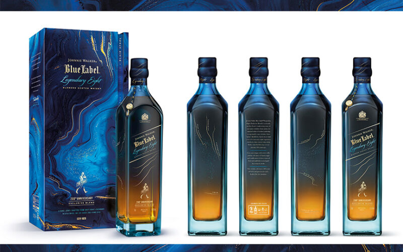 Johnnie Walker legendary eight blue label