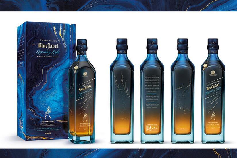 Johnnie Walker legendary eight blue label