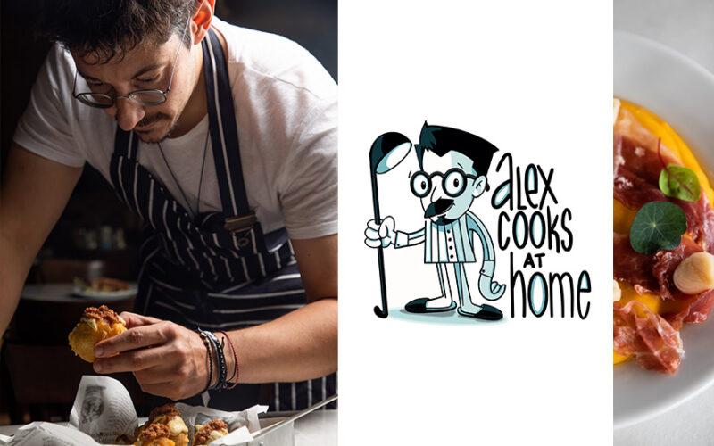 Alex Cooks @ Home με τον Αλέξανδρο Τσιοτίνη