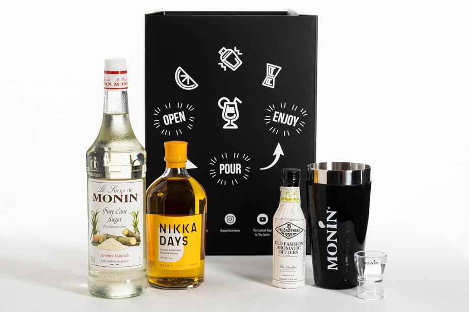 sky spirits cocktail box nikka monin