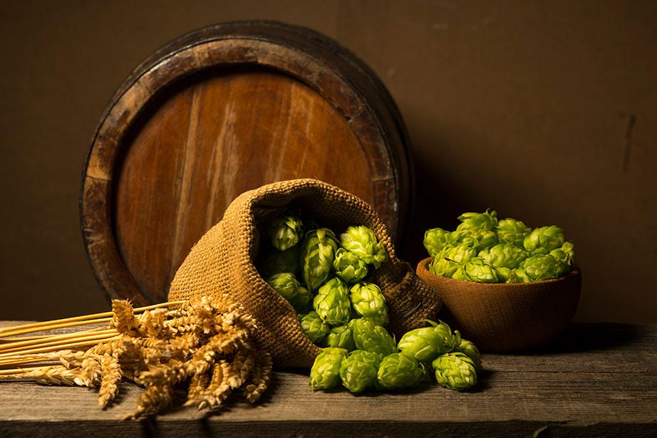 hops barley barrel