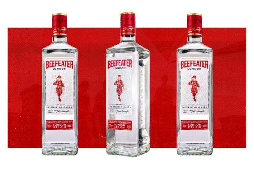 beefeater new bottle