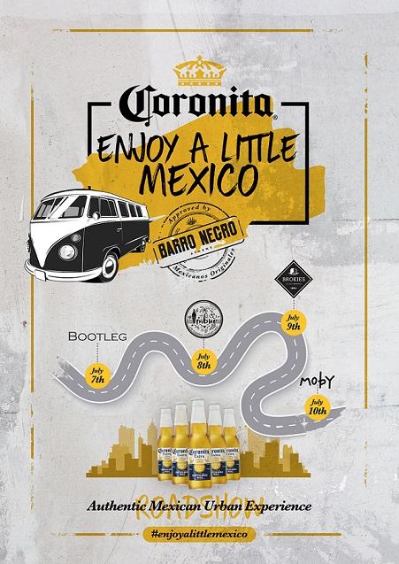coronita enjoy a little mexico