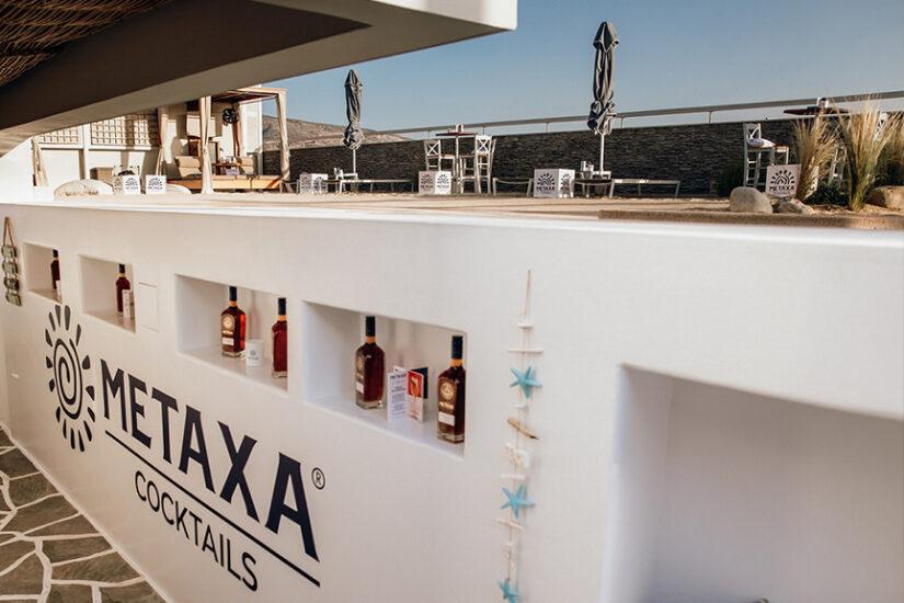 metaxa cocktails mavili beach